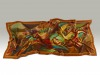 Fashion Silk Scarf 1 | Luxury Designer Silk Scarves for Women's by Hazelglow Store