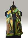 Fashion Silk Scarf 2 | Luxury Designer Silk Scarves for Women's by Hazelglow Store