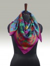 Fashion Silk Scarf <br>6 | Luxury Designer Silk Scarves for Women's by Hazelglow Store