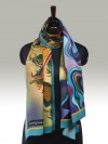 Fashion Silk Scarf 10 | Luxury Designer Silk Scarves for Women's by Hazelglow