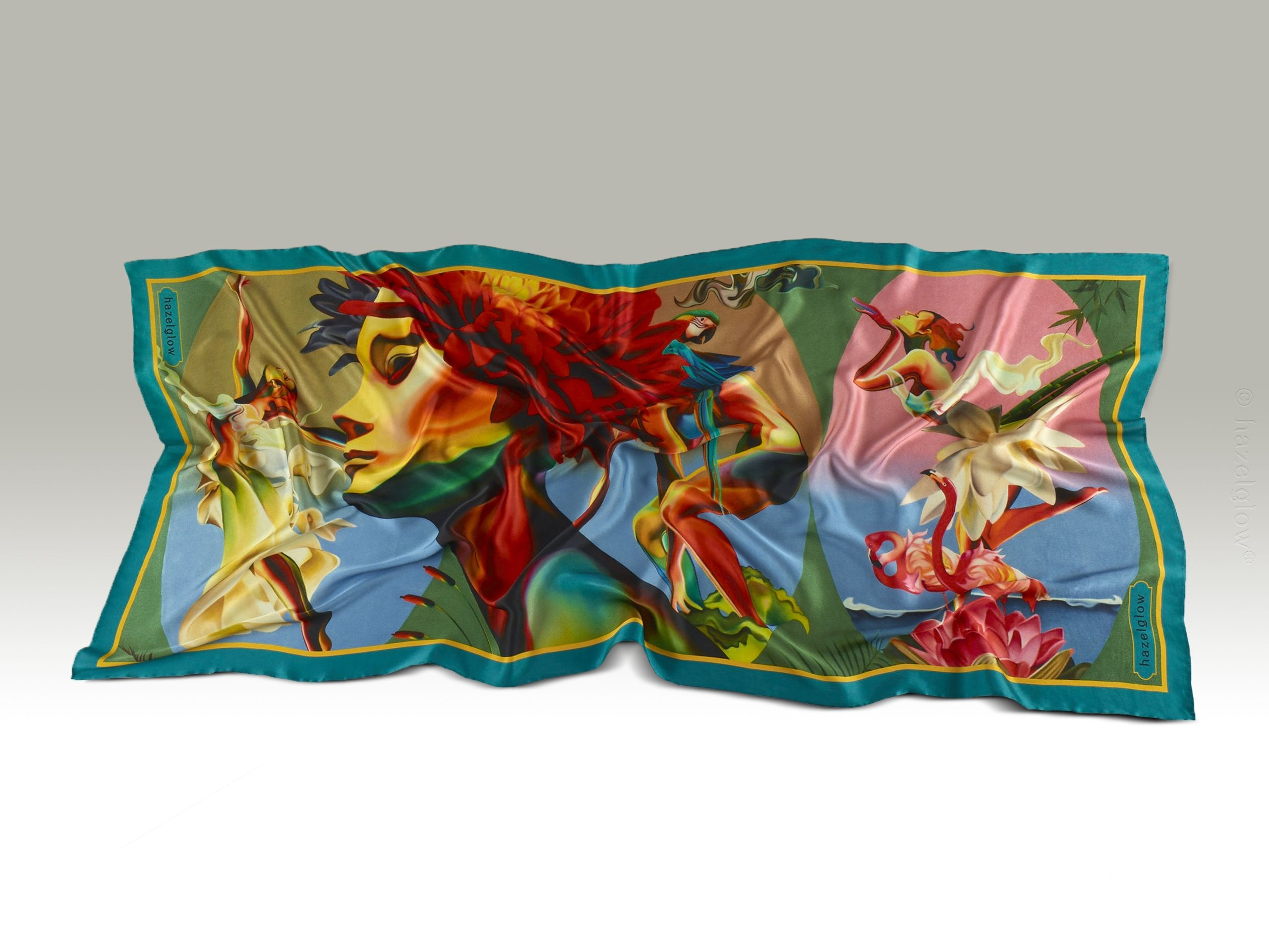 Fashion, Silk Scarf 11,