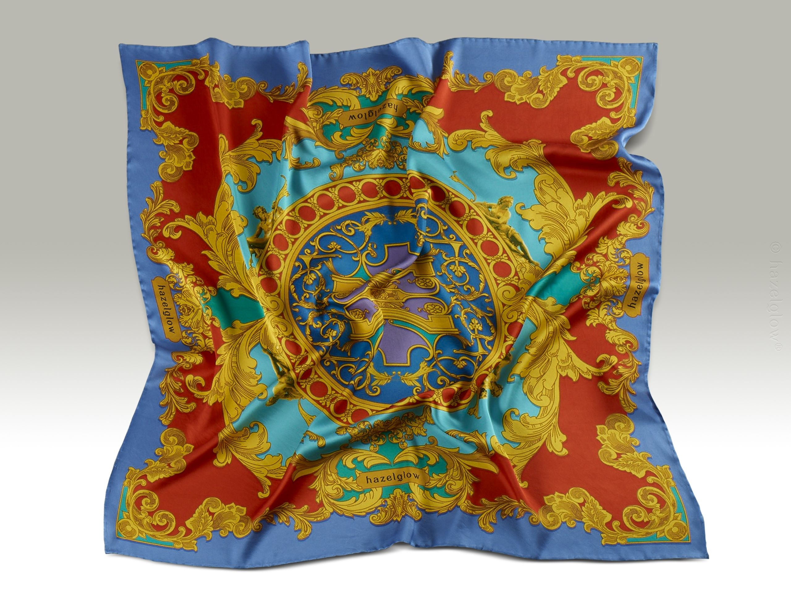 Fashion, Silk Scarf 13,