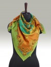 Fashion Silk Scarf <br>14 | Luxury Designer Silk Scarves for Women's by Hazelglow Store