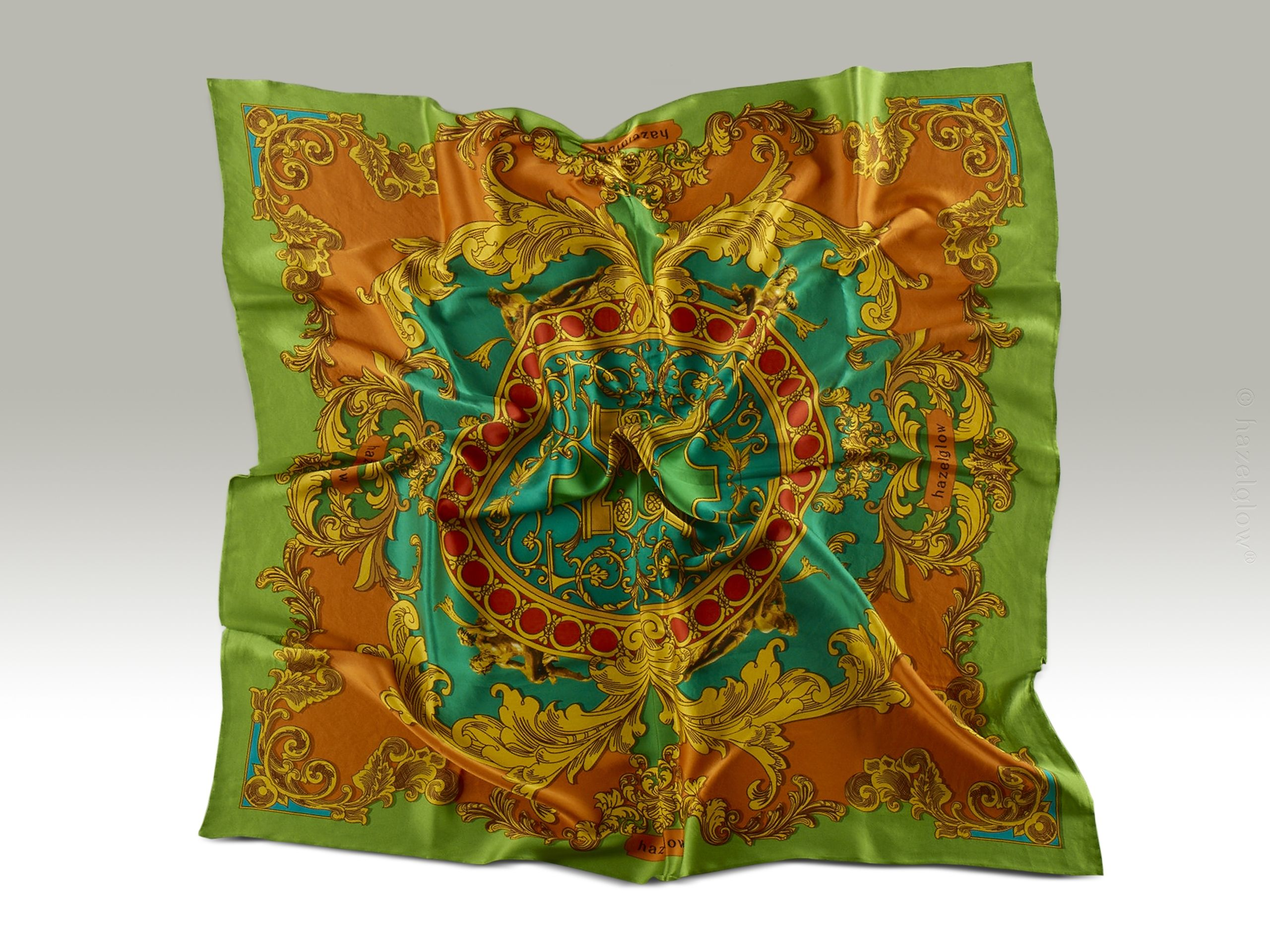 Fashion, Silk Scarf 14,