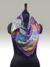 Fashion Silk Scarf <br>15 | Luxury Designer Silk Scarves for Women's by Hazelglow Store