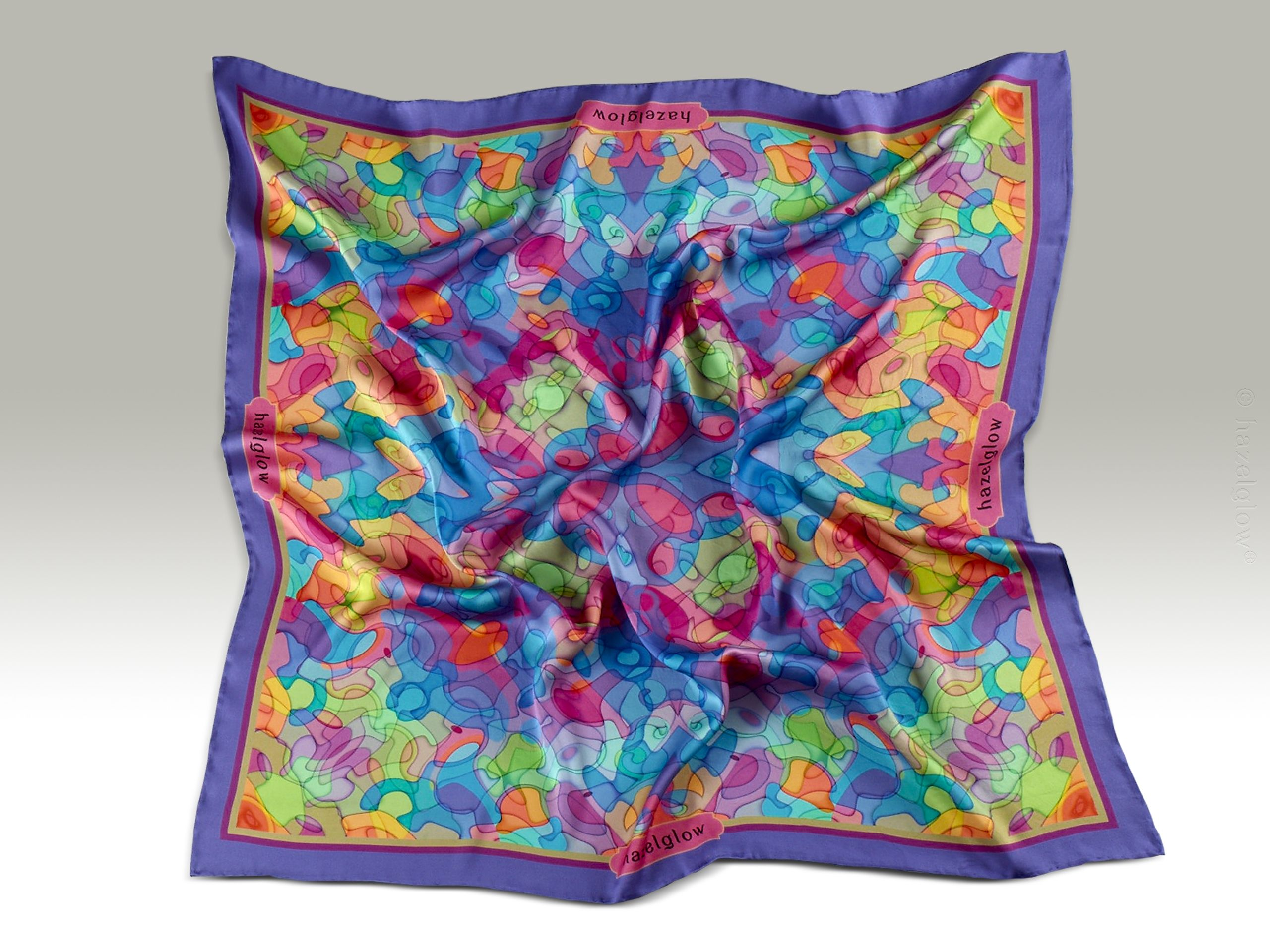 Fashion, Silk Scarf 15,