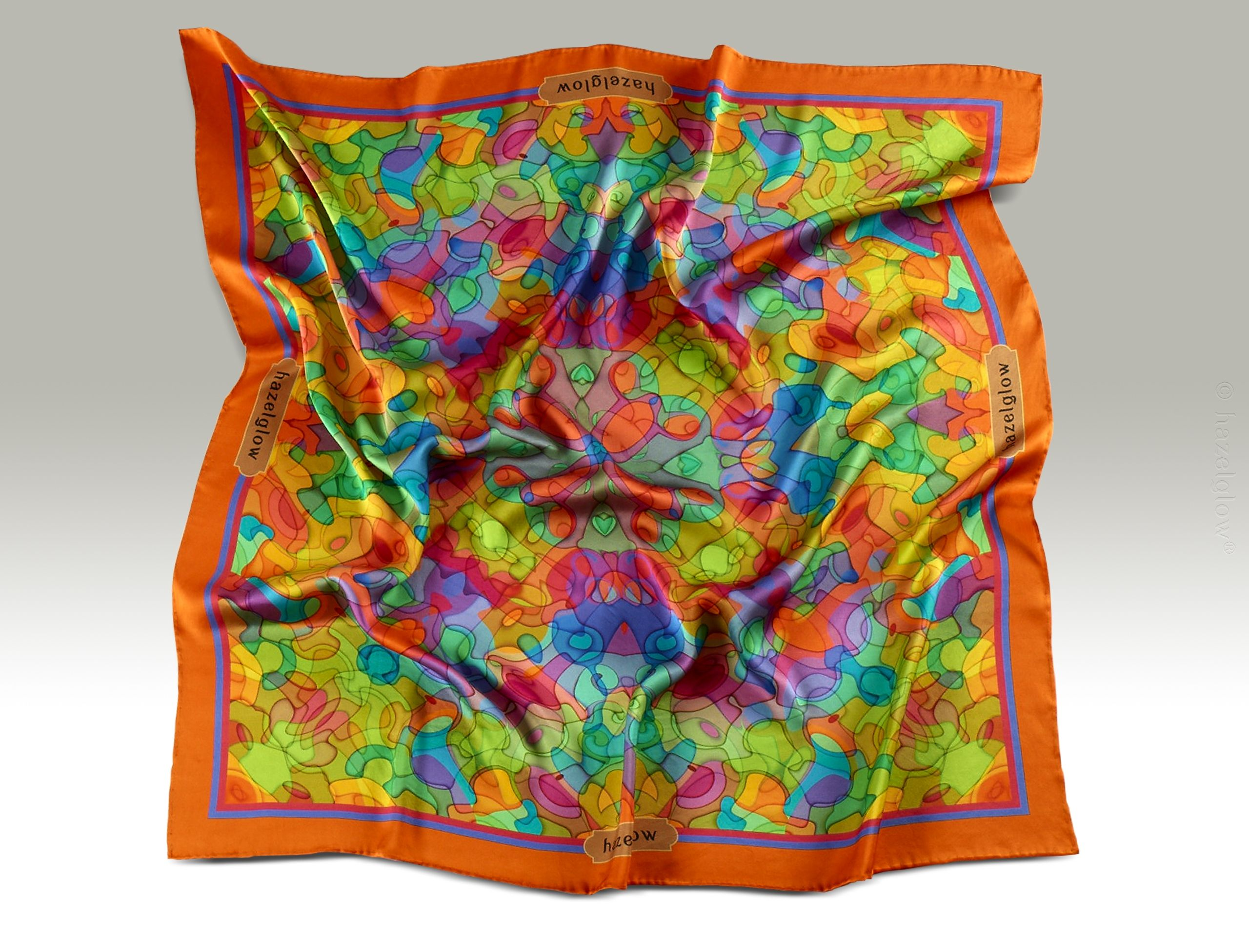 Fashion, Silk Scarf 16,