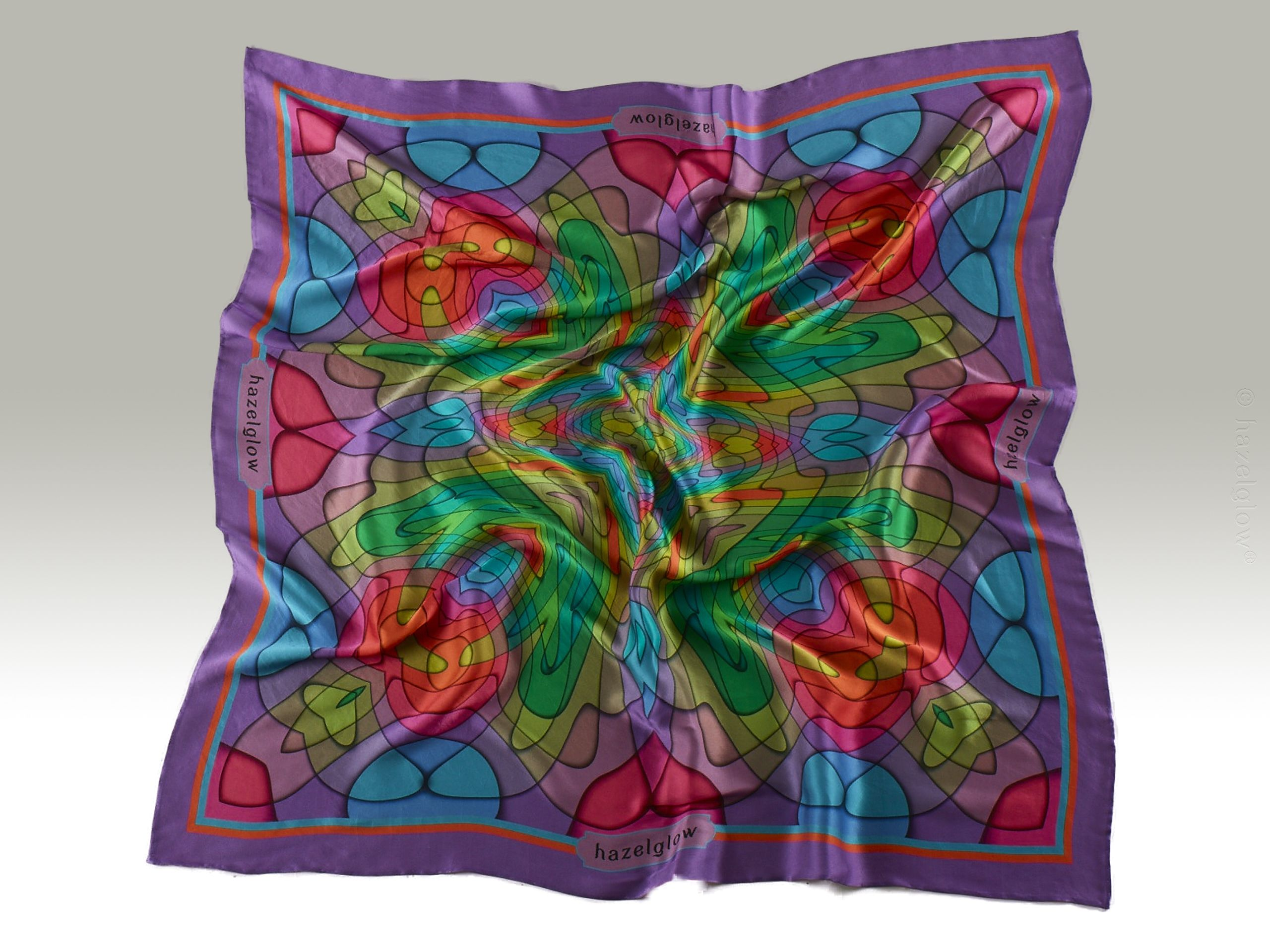 Fashion, Silk Scarf 20,