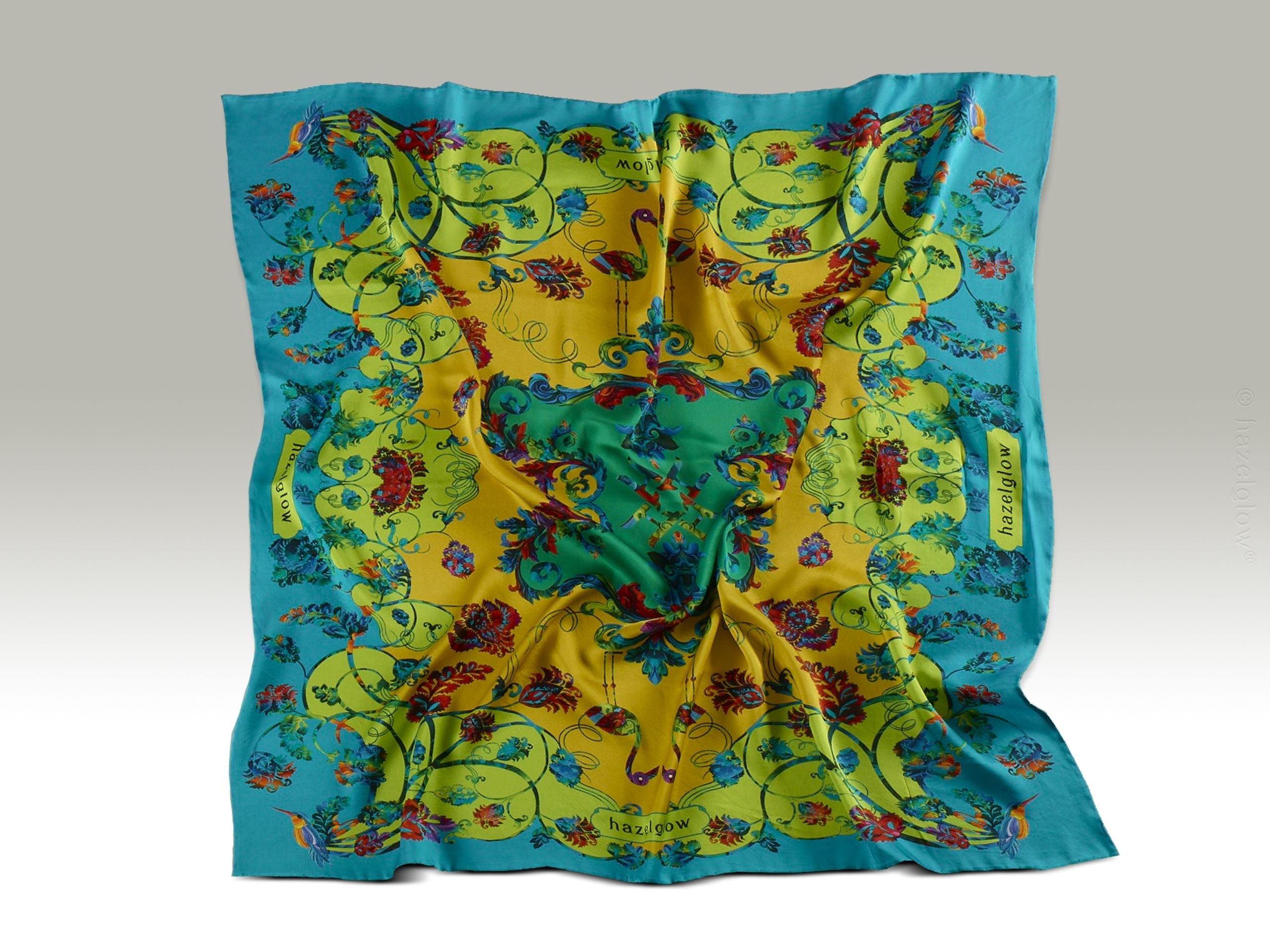 Fashion, Silk Scarf 22,