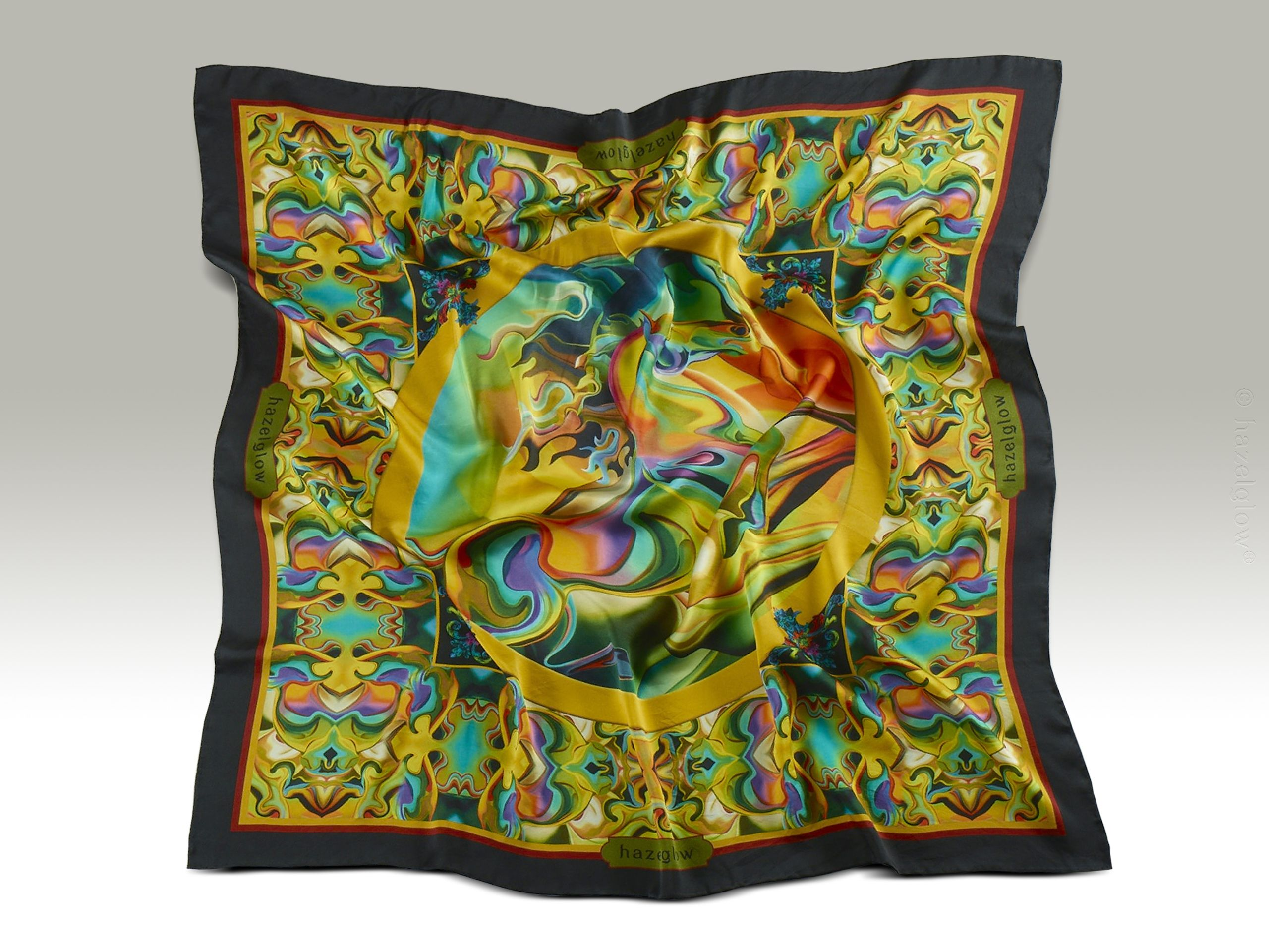 Fashion, Silk Scarf 23,