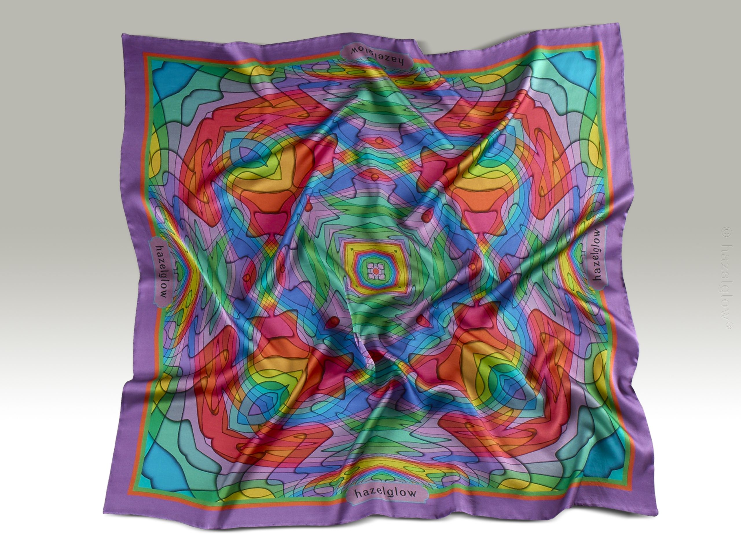 Fashion, Silk Scarf 24,