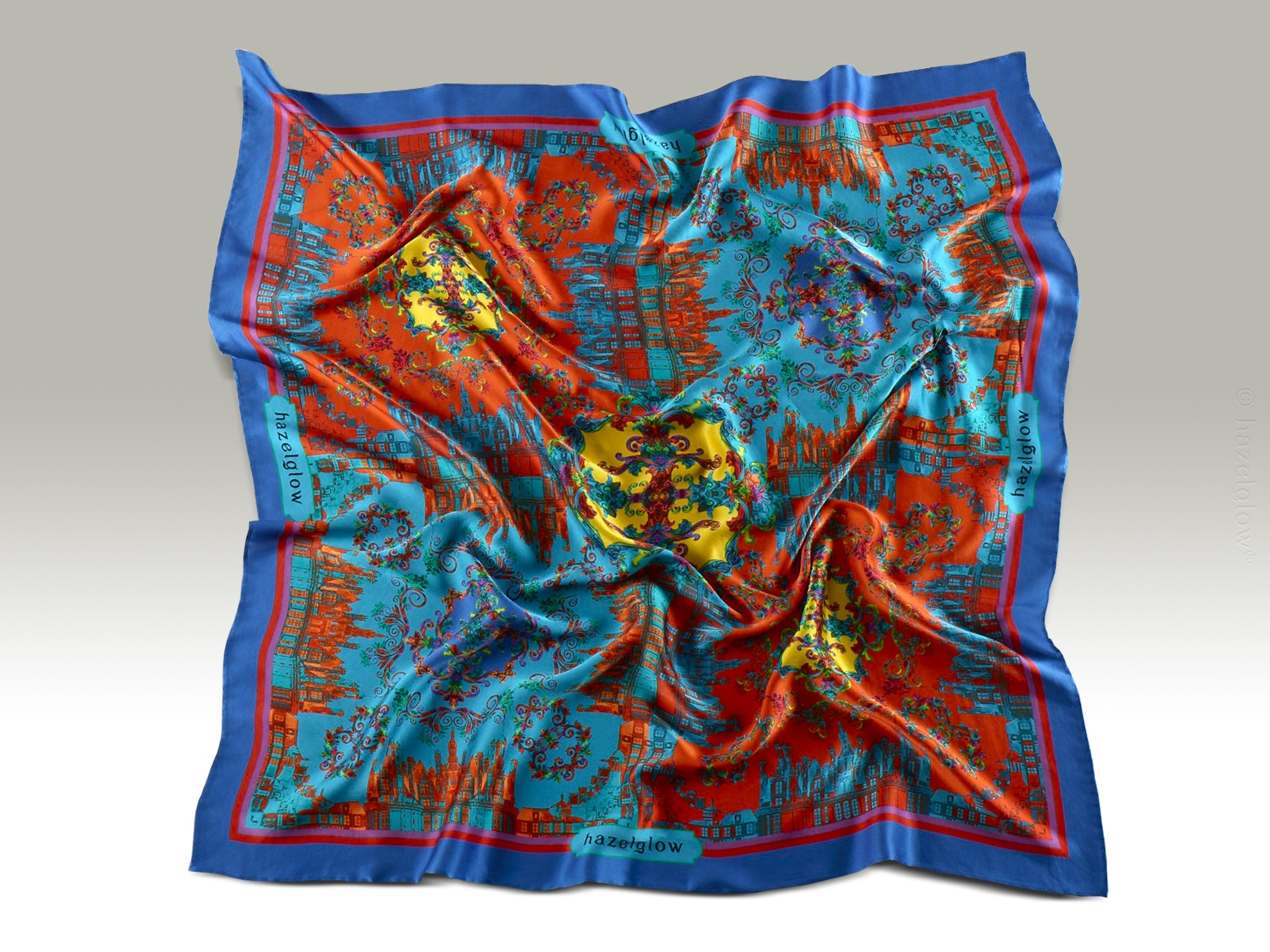 Fashion, Silk Scarf 26,