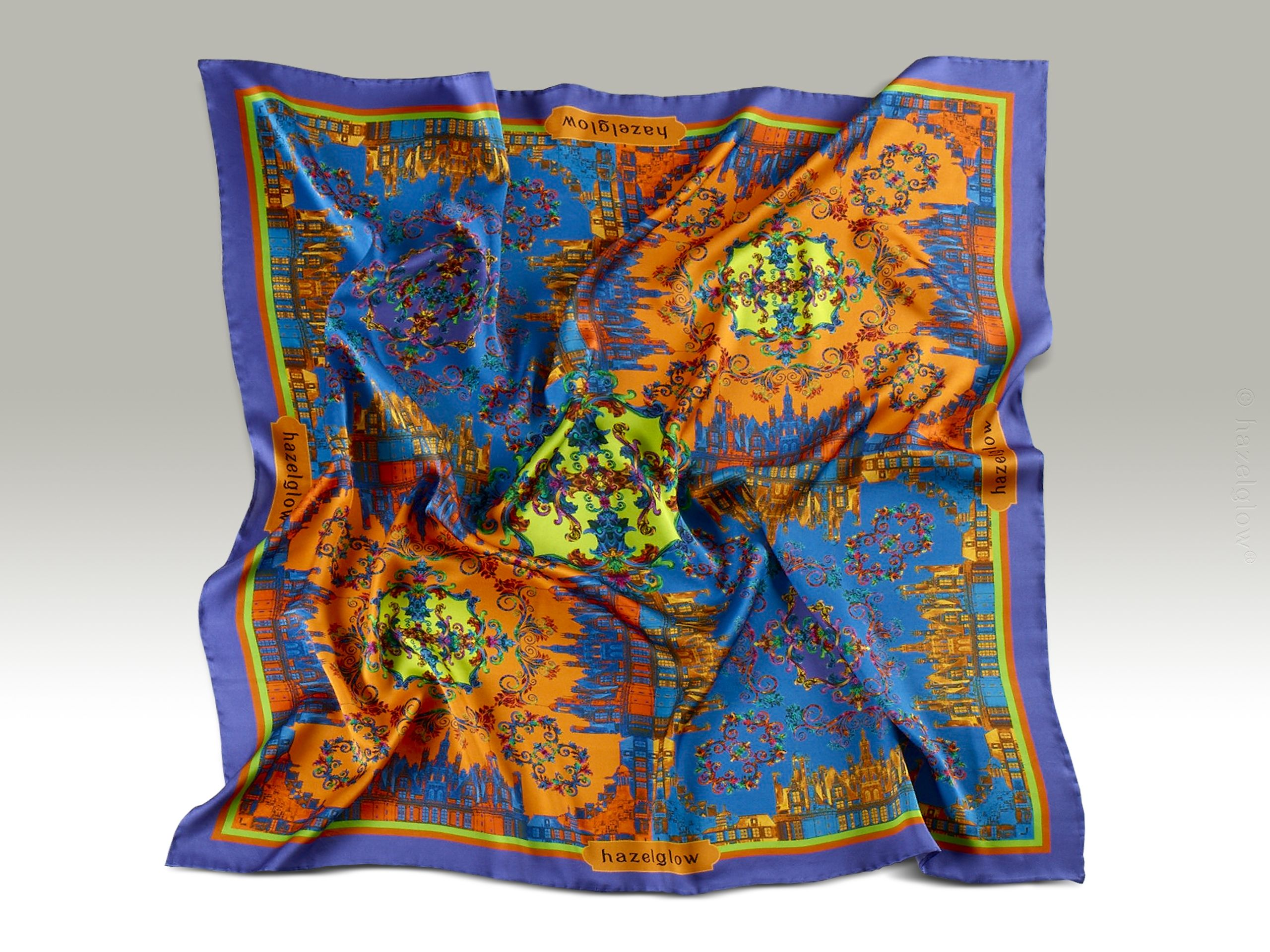 Fashion, Silk Scarf 27,