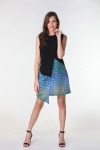 Fashion Asymmetric <br>| Luxury Designer Dress for Women's by Hazelglow Store